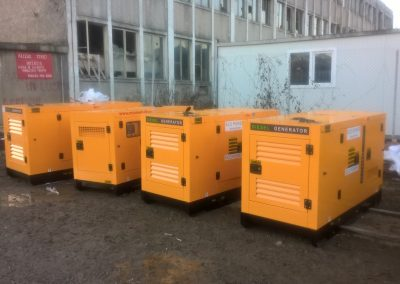 3 x 45 kVA si 75 kVA - Compania de apa Brad