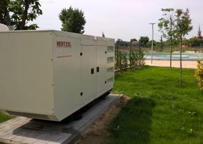 generator 150 kVA - Aquaparc Oradea