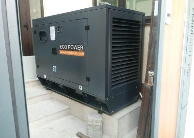 generator 25 kVA - clinica stomatologica Bucuresti