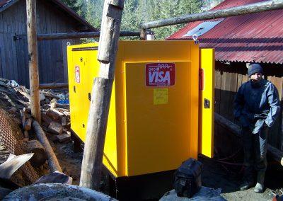 generator 250 kVA - cariera Pojorata