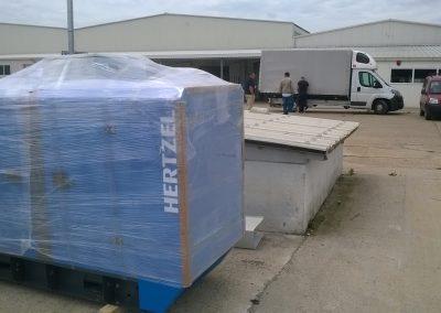 generator 30 kVA - fabrica tamplarie Oradea