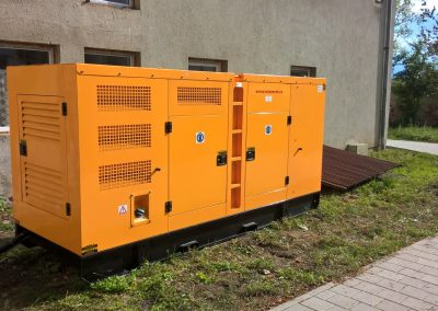 generator 325 kVA - spital Sibiu