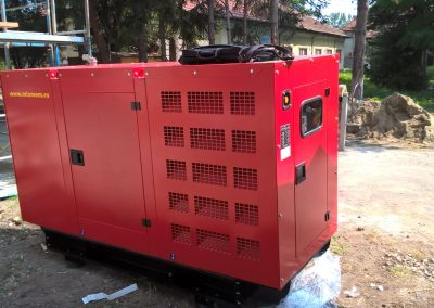 generator 65 kVA - spital Parscov