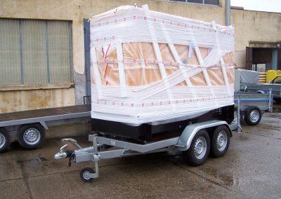 generator mobil 160 kVA - Compania de apa Slatina